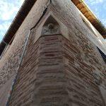 Restauración de fachada de ladrillo y piedra