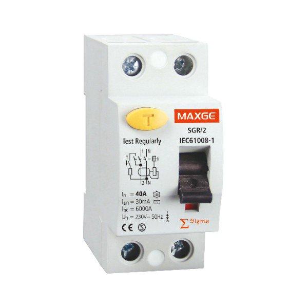 interruptor automático diferencial