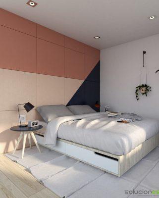 Diseño de Dormitorio Suite